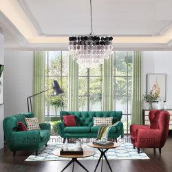 Newest Nordic Moden Design Home Furniture 123 Fabric Sofa