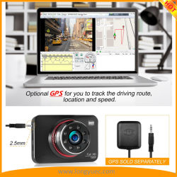 2.7inch Super Night Vision Car Dash Camera with Sony Imx323 Sensor Touch Keys Operation