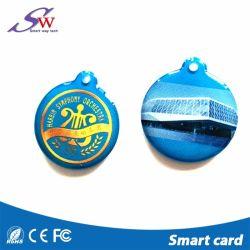 Printable Logo Epoxy Smart RFID Keyfob with S50 1K Chip
