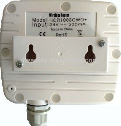 Long Range Transmitter and Receiver Outdoor Wireless CPE