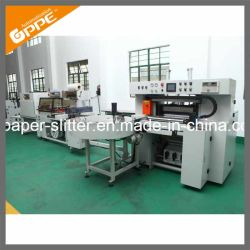 Cash Roll Converting and Packing Line Slitter Machine