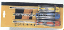 3PCS Screwdriver Set in Blister Card Hardware Tool Screw Driver