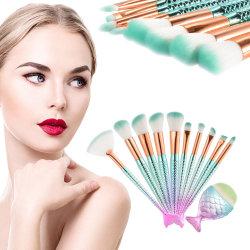 Makeup Brushes Kit Set Powder Foundation Eyeshadow Eyeliner Fan Brush