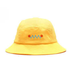 Popular Design Your Own Custom Yellow Bucket Hat Wholesale 0a33f2dbe328