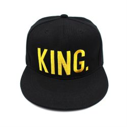 909044ca69829 Fashion Gorra Vintage Embroidery Black Custom Snapback Caps