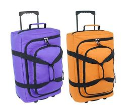 Trolley Travel Bag with Luggage for Sports, Military, Duffle