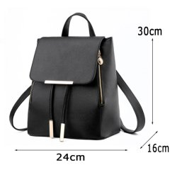 Purse Four Colors PU Women Handbag PU Travel Canvas School Shopping Laptop Ladies Tote Cosmetic Bag Backpack Lady Handbags