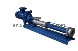 Vertical Type Pump Submersible Screw Pump Used for Crude Oil, Crude Oil Polluted with Water Sand, Oil Sludge