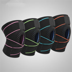 Adjustable Neoprene Elastic Open Patella Sports Knee Support