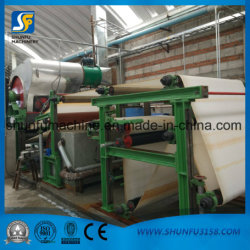 New Waste Paper Recycling Tissue Toilet Paper Roll Machine Production Line