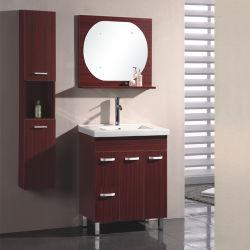 2017 Floor Standing Melamine Surface Bathroom Furniture Sw-Pb173