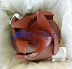 Spare Parts for Mining Centrifugal Slurry Pump Natural Rubber