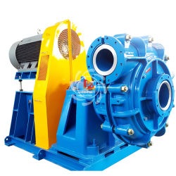 Abrasion Resistant Solid Handling Centrifugal Sand Washing Slurry Pump