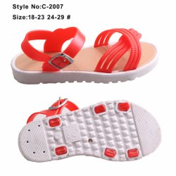 bab3aad25 Colorful Ladies and Baby Girls PU Upper and EVA Sole Sandals with  Decorations