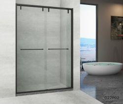 Stainless Steel Framed Simple Shower Enclosure Bathroom
