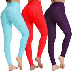 Elastic Yoga Sport Wear Trousers Pants Sets for Ladies