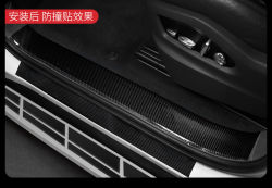 FIT 15 Feet Silver Door Front Rear Lip Edge Overlay Molding Guard Protection Decoration Stripe Trim D.I.Y