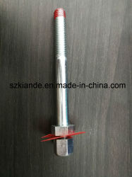 Double Head Bolt with Square Nut for Busbar Joint