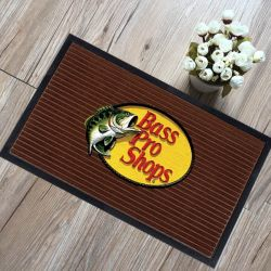 Sports Team Brand Fans Promotion Gifts Giveaway Premium Custom Printed Sublimation Printing Logo Door Floor Welcome Entrance Carpets