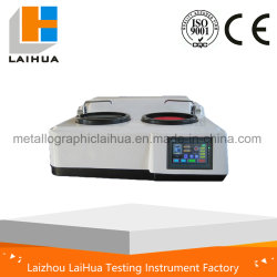MP-2s Touch Screen Type Double Disc/Wheel Metallographic Specimen Grinding Polishing Machine