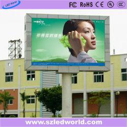 P8 LED Video Wall Energy Saving Custom Aluminum Single Pole