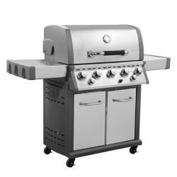 5 Burner Outdoor Gas BBQ Grill with CSA ETL Ce