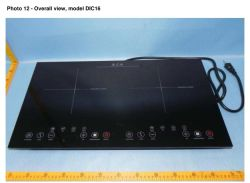 120V ETL 2 burner electric induction cooker for USA Market