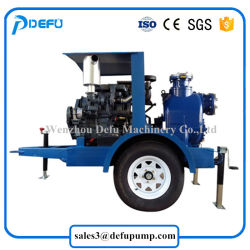 Factory Supply Trailers Mounted Self Priming Sewage Pumps