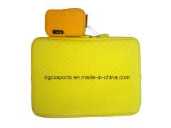 Popular Waterproof Dustproof Neoprene Computer Laptop Sleeve Cooler Bag with Handle