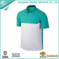 Men's Contrast Color Sports Polo Shirt