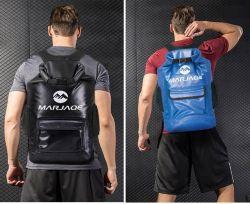 Outdoor Pack Waterproof Travel Fitness Handbag Storage Bag Large Capacity Hiking and Camping Tarpaulin PVC Sports Duffel Weekend