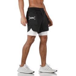 High Quality Customised Logo Mens Compression Short Sport Tights Short Pants Jogging Short