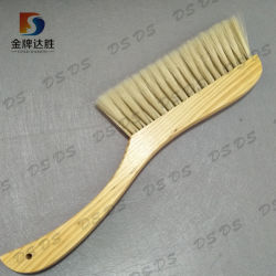 Manufacturer Customized Wooden Handle Soft Natural Bristle House Bed Cleaning Dust Brushes