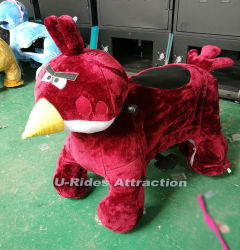 kiddie ride Walking animal ride car with plastic toy fence
