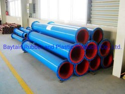 Wear Resistant and Corrosion Resistant Polyurethane Lined Pipe for Mining Tailing Process as Slurry Pipe