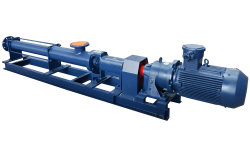 High Viscosity Screw Pump, Progressive Cavity Pump, Positive Displacement Pump for Chemical, Slurry