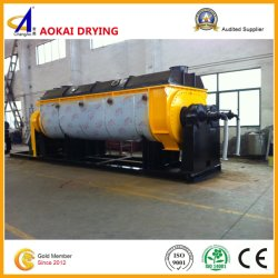 Continuous Paddle Drying Machine for Slurry