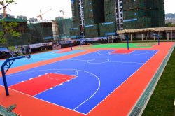 Outdoor Basketball Sports Flooring Plastic Products