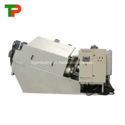 Top Special Multi-Plate Screw Press/Sludge Dehydrator for Oil Slurry