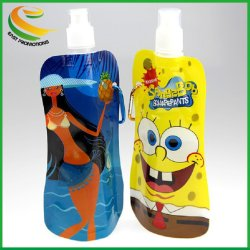 Customized Logo Folding Sports Water Bottle/Water Bag/Foldable Bag for Travel