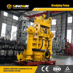 Hydraulic River Dredging Pump Heavy Duty Submersible Slurry Pump with Agitator Cutters for Sand and Mud Dredge
