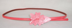 Flower Buckle Fashion Lady's Narrow Belt Ky2190