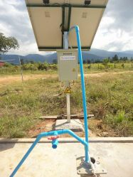 Solar Power System Water Level Control System
