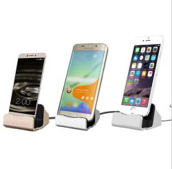 Docking Station for Samsung/iPhone/iPad and All Branded Phones for Charging and Data Transferring Dock Station