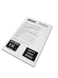 Direct Factory Full Color Printing Customized Softcover Brochure