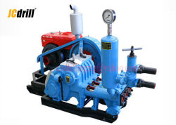Single Acting Reciprocation Piston Mud Pump for Water Well Drilling 25bar Triplex
