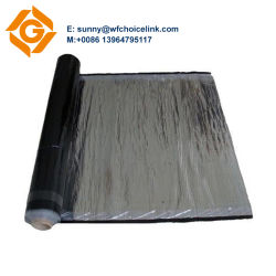 Self Adhesive Bituminous Waterproof Material Aluminium Foil