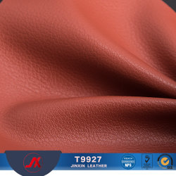 PU Artificial Synthetic Leather for Sofa Handbags with Lichee Pattern