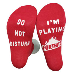 Do Not Disturb I Am Gaming Funny Happy Sock Promotional Gifts Sports Funny Custom Christmas Gift