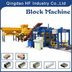 Qt5-15 Full Automatic Hydraulic Concrete Cement Hollow Paver Brick Block Making Machine Manufacturer Price
